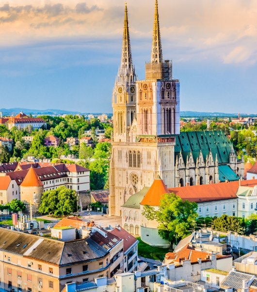 Croatian Cities from Zagreb