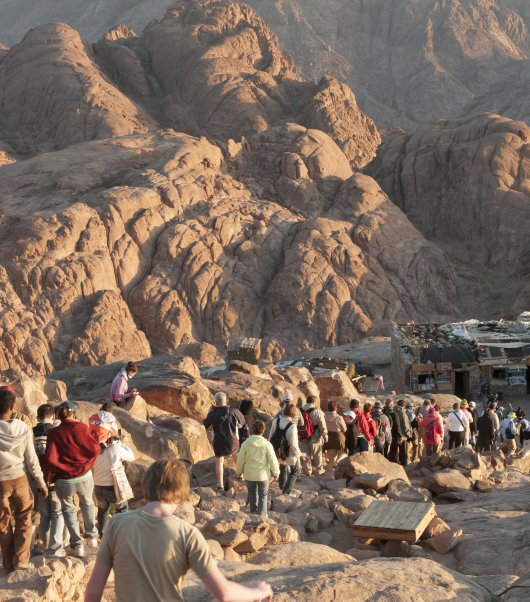 The Footsteps of Pharaohs