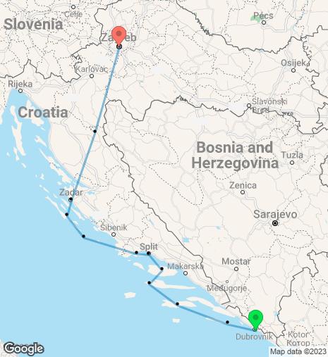 Croatia & Adriatic Cruise & Stay