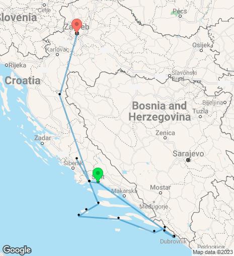 Wonderful Croatia Cruise & Stay