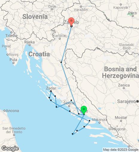 Beautiful Croatia Cruise & Stay