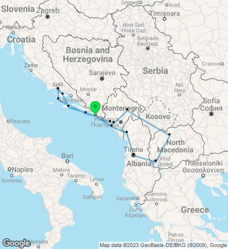 Gorgeous Balkans & Adriatic Cruise & Stay