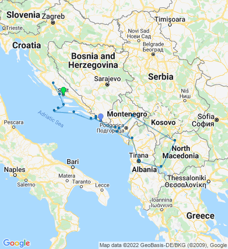 Balkan Highlights Cruise & Stay