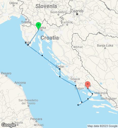 Breathtaking Croatia Cruise Opatija-Split