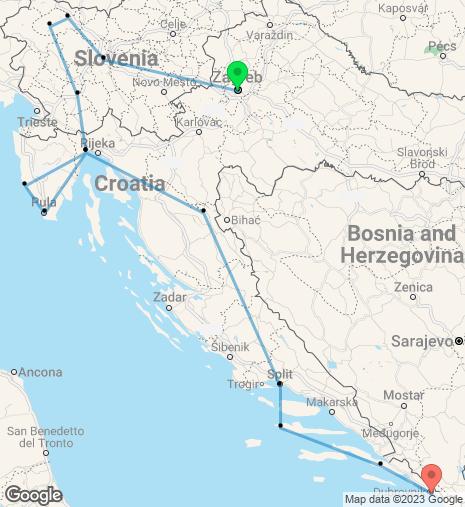 Wonders of Croatia and Slovenia