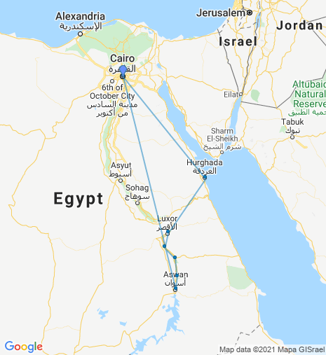 Egyptian Highlights & The Red Sea