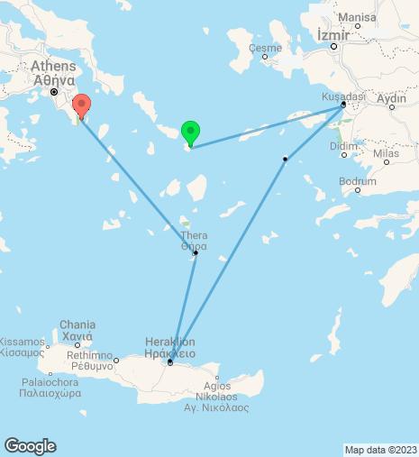 Taste of the Aegean Cruise Mykonos – Athens