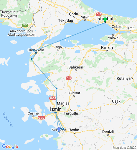 North Bound ex Izmir