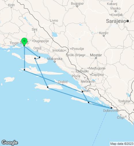 Croatian Coast Split – Split Cruise (Wednesday)