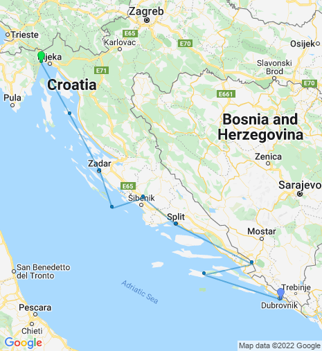 Adriatic Explorer Dubrovnik – Opatija Cruise