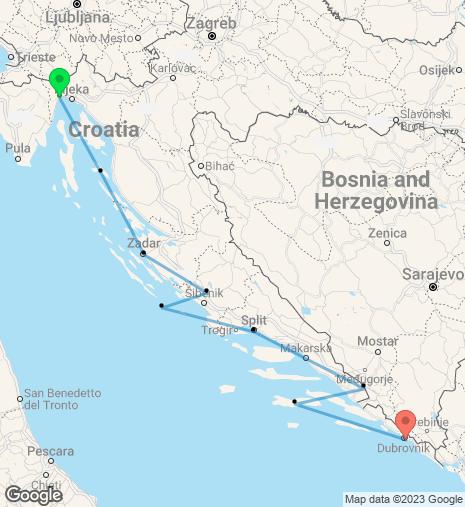Adriatic Explorer Opatija – Dubrovnik Cruise