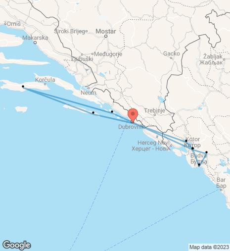 Sights of Montenegro Dubrovnik – Dubrovnik Cruise